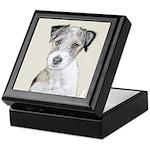 Russell Terrier (Rough) Keepsake Box