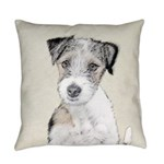Russell Terrier (Rough) Everyday Pillow