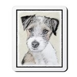 Russell Terrier (Rough) Mousepad