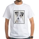 Russell Terrier (Rough) White T-Shirt