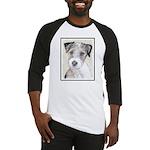 Russell Terrier (Rough) Baseball Jersey