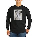 Russell Terrier (Rough) Long Sleeve Dark T-Shirt