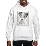 Russell Terrier (Rough) Hooded Sweatshirt