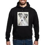 Russell Terrier (Rough) Hoodie (dark)