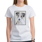 Russell Terrier (Rou Women's Classic White T-Shirt