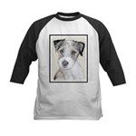 Russell Terrier (Rough) Kids Baseball Jersey