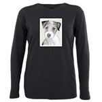 Russell Terrier (Rough) Plus Size Long Sleeve Tee