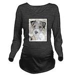 Russell Terrier (Rou Long Sleeve Maternity T-Shirt