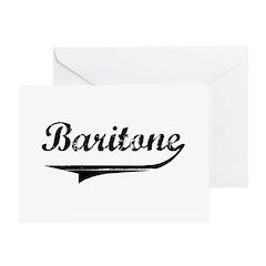 Baritone Swish Greeting Card