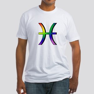 GLBT Pisces Fitted T-Shirt