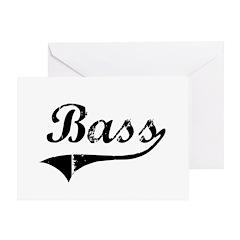 Bass Swish Greeting Card