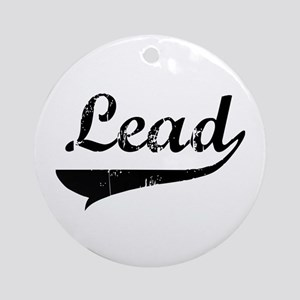 Lead Swish Ornament (Round)