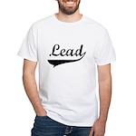 Lead Swish White T-Shirt