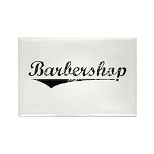 barbershop Rectangle Magnet