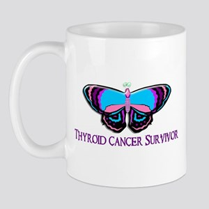 Butterfly Survivor 2 (Thyroid Cancer) Mug