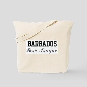 Barbados Beer League Tote Bag