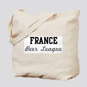 France Beer League Tote Bag