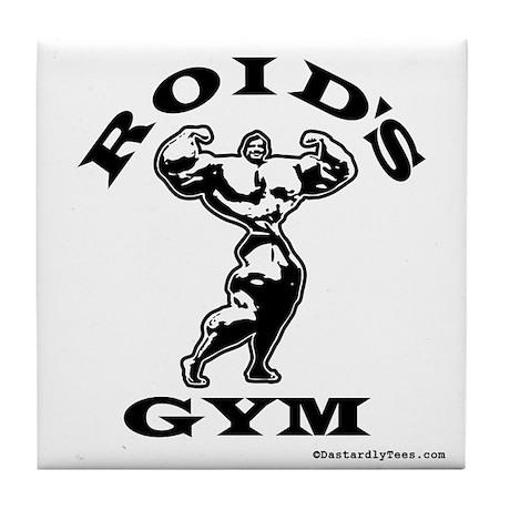 Roid's Gym Tile Coaster