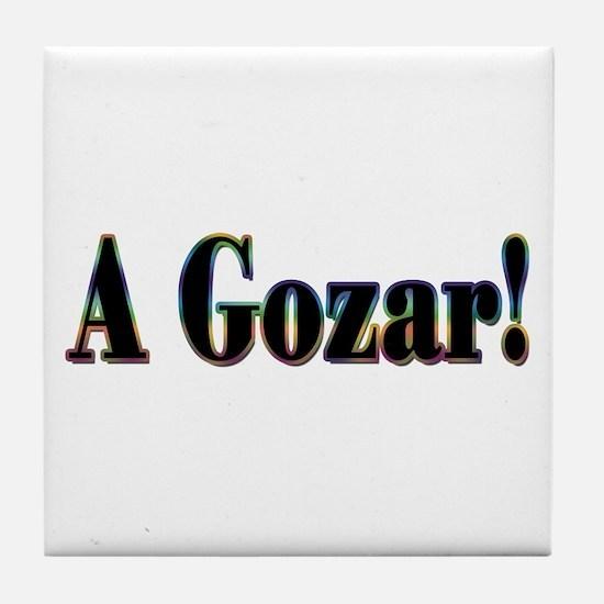A Gozar! Tile Coaster