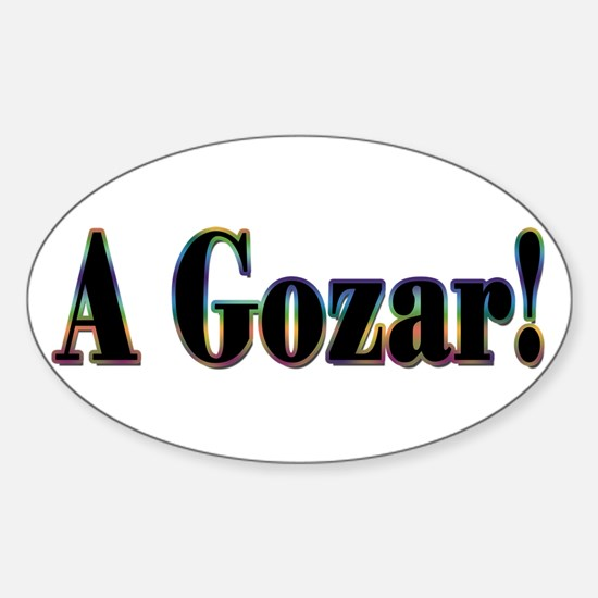 A Gozar! Oval Decal