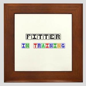 Fitter In Training Framed Tile