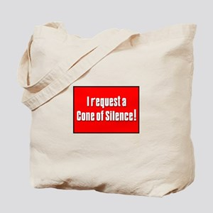 Cone of Silence Get Smart Tote Bag