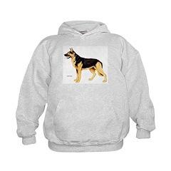 German Shepherd Dog (Front) Hoodie