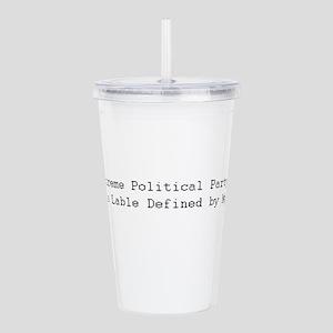 political Acrylic Double-wall Tumbler