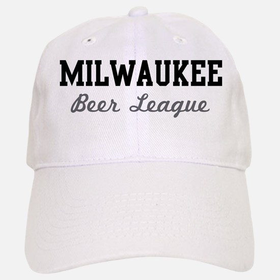 Milwaukee Beer League Baseball Baseball Cap