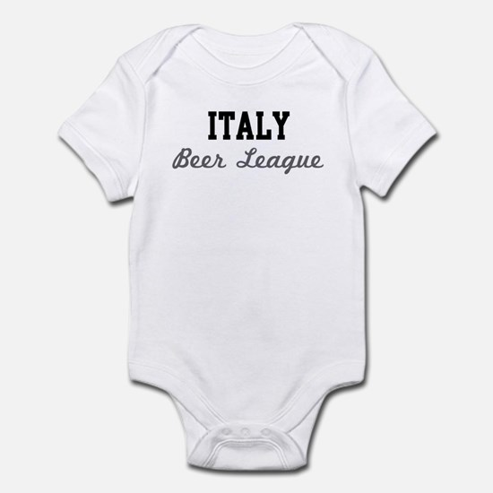 Italy Beer League Infant Bodysuit