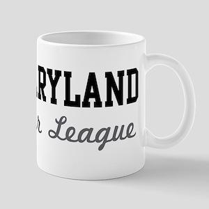 Maryland Beer League Mug
