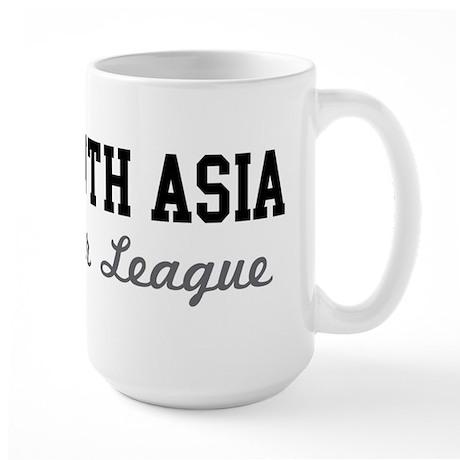 South Asia Beer League Large Mug