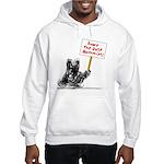 Save the Dust Bunnies! Hooded Sweatshirt