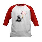 Save the Dust Bunnies! Kids Baseball Jersey