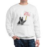 Save the Dust Bunnies! Sweatshirt