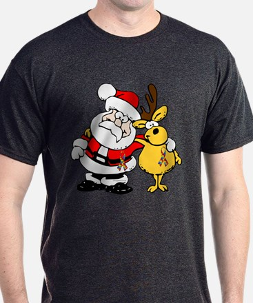 Autism Awareness Christmas design T-Shirt