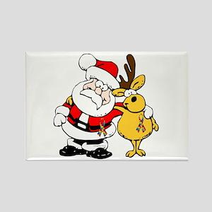 Autism Awareness Christmas design Rectangle Magnet