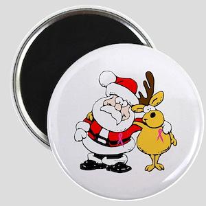 Breast Cancer Awareness Christmas Design 2 Magnet