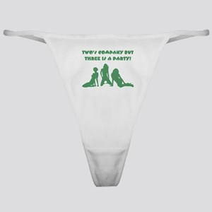 TWO'S COMPANY Classic Thong