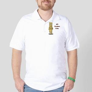 4th Graders Rule Golf Shirt