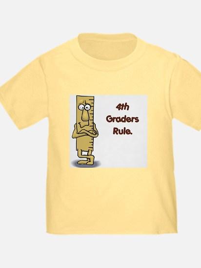 4th Graders Rule T