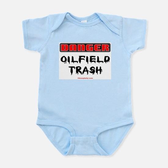 Danger Oilfield Trash Infant Bodysuit