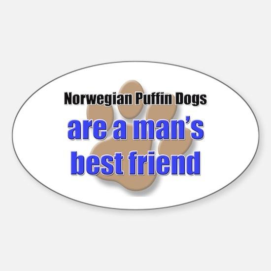 Norwegian Puffin Dogs man's best friend Decal