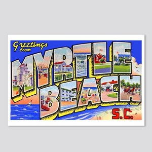 Myrtle Beach South Carolina Postcards Package Of