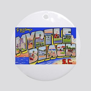 Myrtle Beach South Carolina Ornament (Round)