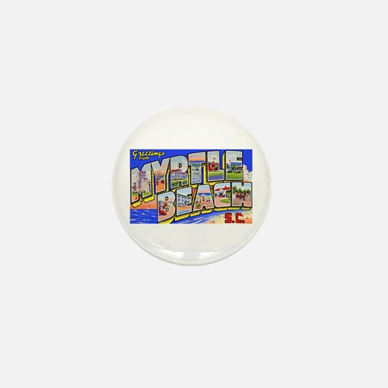Myrtle Beach South Carolina Mini Button