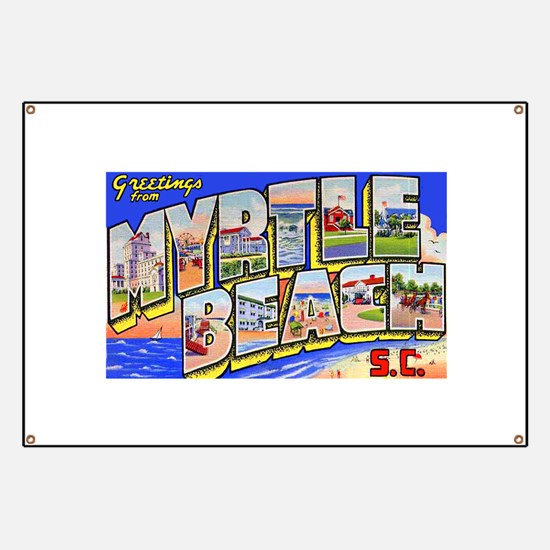 Myrtle Beach South Carolina Banner