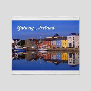 Galway , Ireland Throw Blanket