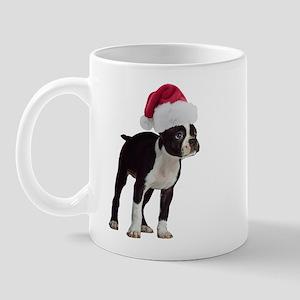 Boston Terrier Christmas Mug