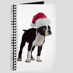 Boston Terrier Christmas Journal